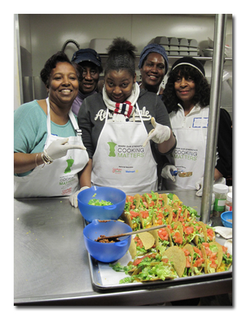 Local childcare professionals learn 39 cooking matters for Academie de cuisine summer camp
