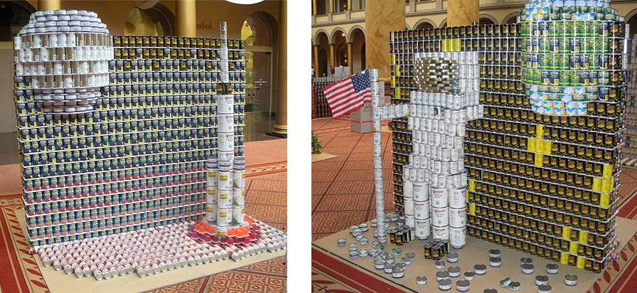 Canstruction Polls Are Open Capital Area Food Bank