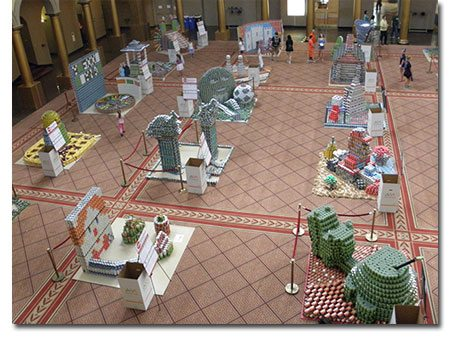 Canstruction 2014: Time to Vote