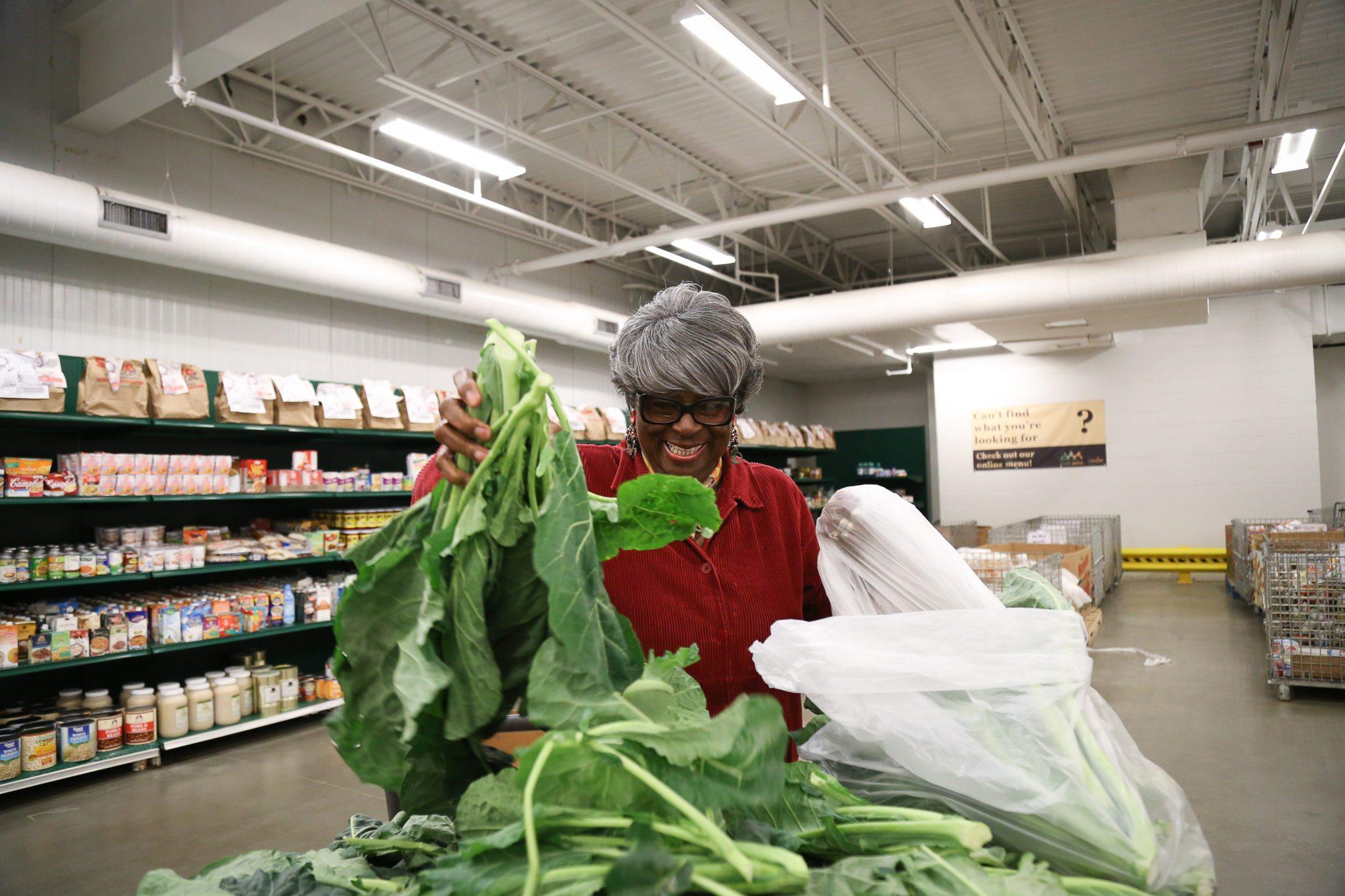 Capital Food Bank Volunteer